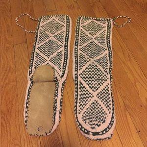 Shoes - Handmade Native American mukluks