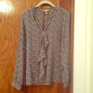 Forever 21 contemporary front-tie blouse