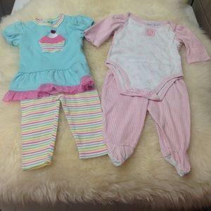 Hartstrings Other - Baby Girl's 2pc. Legging Sets Bundle