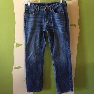 "Jennifer Lopez Denim - Jennifer Lopez boyfriend jeans, size 6, 28"" inseam"