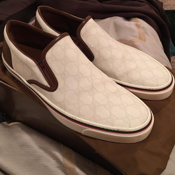 Gucci Shoes | Gucci Slip Ons | Poshmark