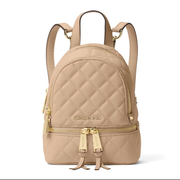 d5152373b550 Michael Kors Bags | Rhea Xs Quilted Leather Backpack | Poshmark