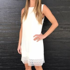 cupcakes and cashmere Dresses & Skirts - Sleeveless white dress