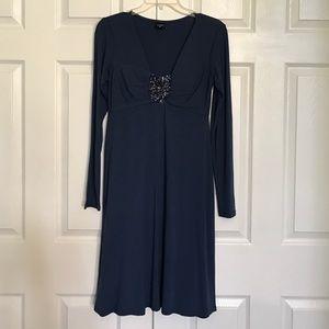 Olian Dresses & Skirts - Brand new Olian navy blue long sleeve dress