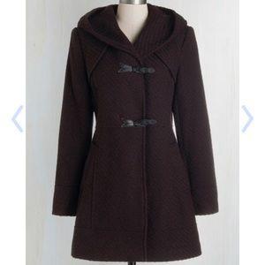 Modcloth Jessica Simpson Guten Toggle Coat