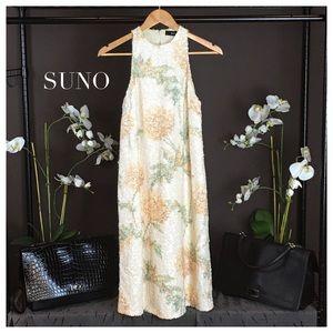 SUNO Dresses & Skirts - SUNO SEQUINED MIDI DRESS