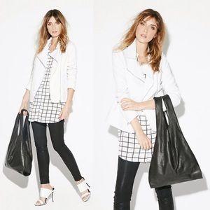 Reformation Jackets & Blazers - BB Dakota Cornelia white leather jacket