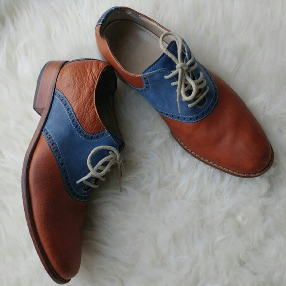 Cole Haan Mens Two Tone Oxford
