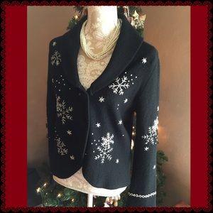 Charter Club Sweaters - Beautiful Christmas Cardigan