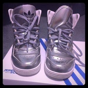 Jeremy Scott x Adidas Other - Silver Jeremy Scott Wings Size 8c...