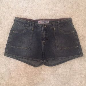anchor blue Pants - Jean shorts