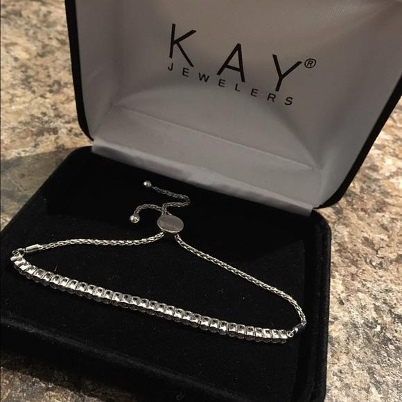 b514401bb Kay Jewelers Jewelry | Kays Diamond Bolo Bracelet | Poshmark