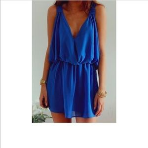 one clothing Other - Royal Blue Romper