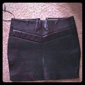 Iro flora black skirt