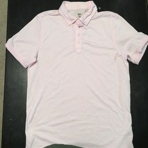 Pink Mossimo polo size M