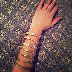 NEW Vintage gold cuff bracelet