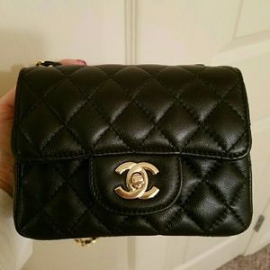 """Handbags - Mini """"CHANEL"""" QUILTED FLAP BAG"""