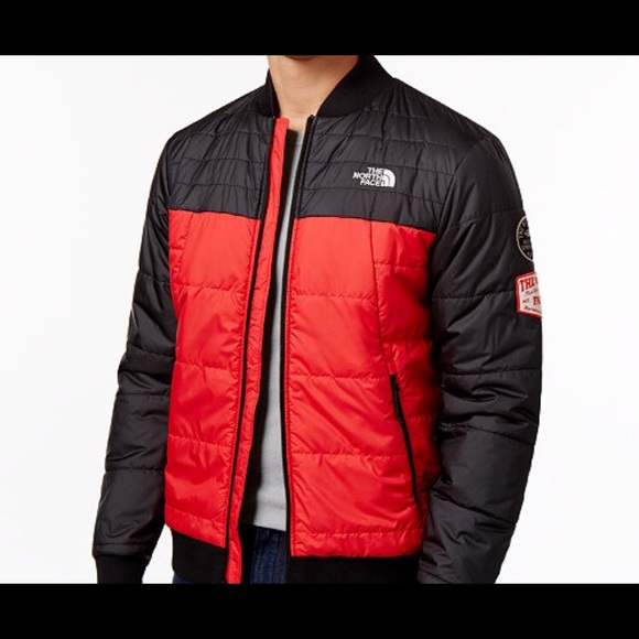 The North Face Jackets Coats Quilted Bomber Jacket Poshmark