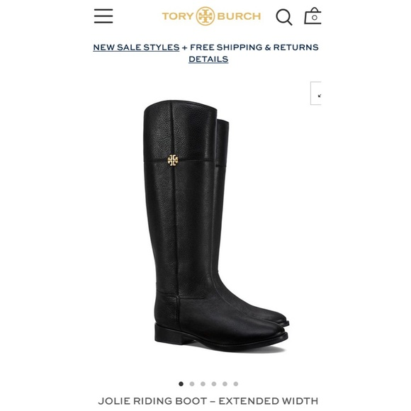acc74b6a0665 Tory Burch Shoes - Tory Burch Jolie Riding Boot - Extended Width