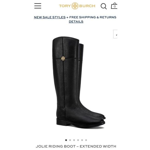 525305ffd275e Tory Burch Shoes - Tory Burch Jolie Riding Boot - Extended Width