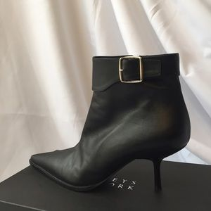 Barneys New York CO-OP Shoes - Barneys of New York CO-OP | Black Leather Booties