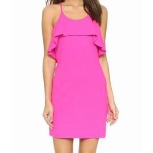Susana Monaco Philomena Dress in Pink Glo