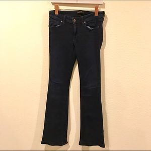 Genetic Denim dark wash boot cut jeans