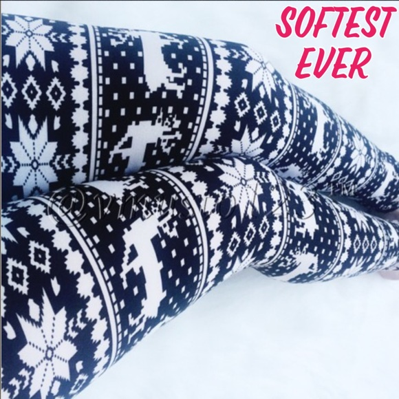 ValMarie Boutique - Fair Isle Reindeer Legging from Valmarie ...