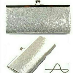 Deco Glitter Evening Bag