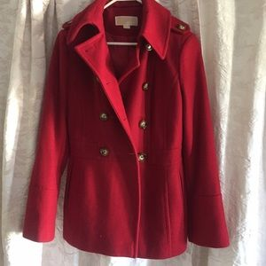 Michael Kors Peacoat size small red