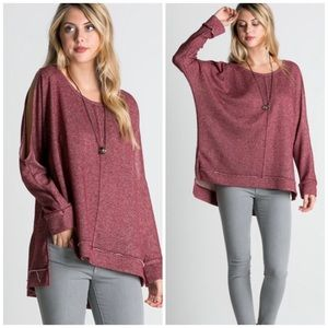 Vivacouture Sweaters - One Hour Sale 🦋Chic Cold Shoulder Tunic
