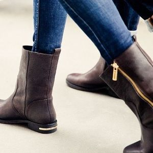 "Tory Burch ""Elyse"" leather booties"
