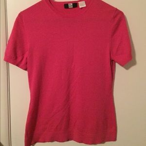 Tops - Saks Fith Ave top- hot pink!