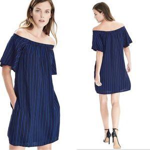 1c3dc98f0484a Banana Republic Dresses - Banana Republic striped off the shoulder dress