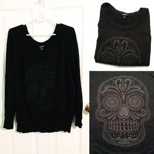 torrid Sweaters - EUC Sugar Skull Sweater