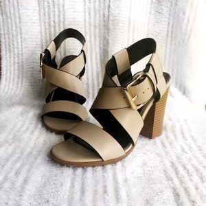 Christian Siriano Shoes - CHRISTIAN SIRIANO for Payless Nude Block Heels