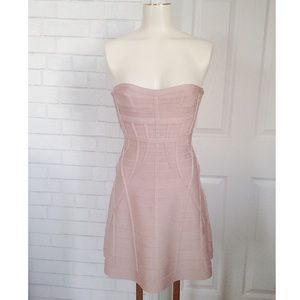 Brand New with Tags Herve Leger Strapless Dress