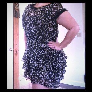 Converse Dresses & Skirts - Rockstar Leopard Tulle Dress