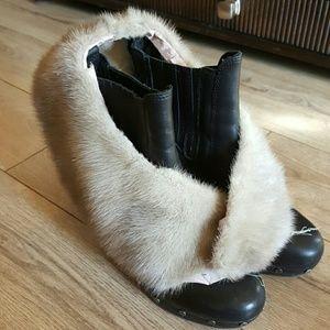 Vintage fur collar GRAY