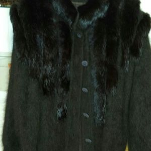 Jackets & Blazers - Sweater jacket. .thick and super fluffy..in