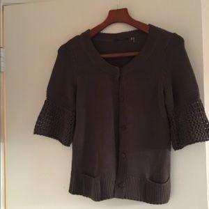 Elie Tahari Sweaters - Elie tahari sweater cropped sleeve size m