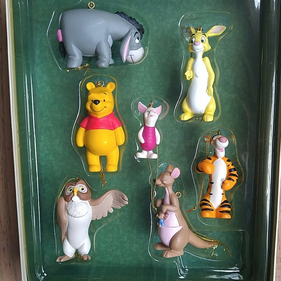 Disney Accessories Winnie The Pooh Storybook Ornament