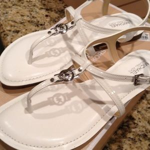 MICHAEL Michael Kors Shoes - New gorgeous White Michael Kors sandals👠❤️💕
