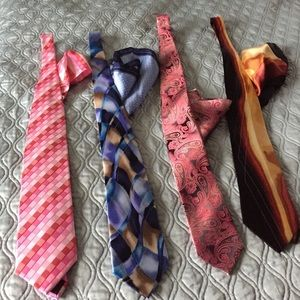 Accessory Collective Other - Men's Tie and Pocket Square Sets.