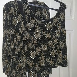 Onyx Tops - Party top