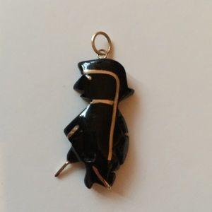 Jewelry - Black Coral 14k Gold TALISMAN