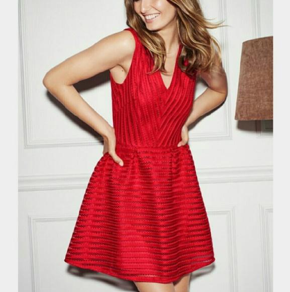 hm red christmas dress - Red Christmas Dresses
