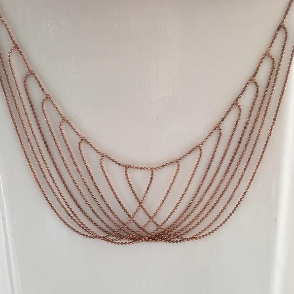 Jewelry Dyadema Rose Goldsterling Silver Necklace Poshmark