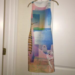 CLOVER CANTON CUTOUT DRESS NWOT