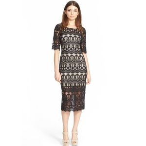 J.O.A. Lace Body Con Dress